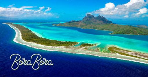 Te descubrimos la isla de Bora Bora